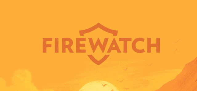 The saturated and warm shapes that compose the trademark sunset of Firewatch