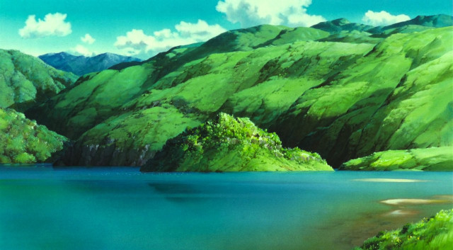 A watercolor landscape so beautiful it made me cry