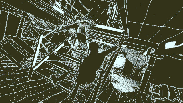 The retro visuals and frozen action of Return of the Obra Dinn